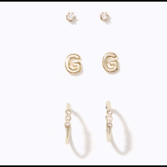 pin gottlieb earrings stephanie stud fine jewelry initial diamond